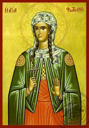 Saint Photine the Samaritan Woman - Hand-Painted Icon