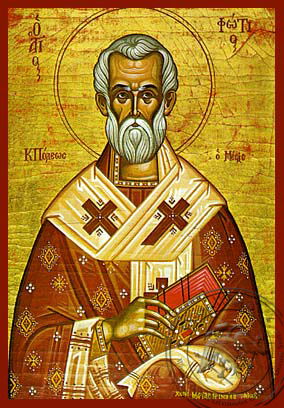 Saint Photios the Great - Hand-Painted Icon