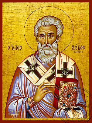 Saint Photius the Great, Patriarch of Constantinople - Hand Painted Icon