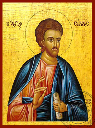 Silas Apostle - Hand-Painted Icon