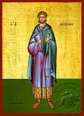 Saint Sozon - Hand-Painted Icon