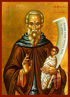 Saint Stylianos, of Paphlagonia - Hand Painted Icon