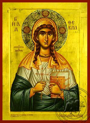 Saint Thekla - Hand-Painted Icon