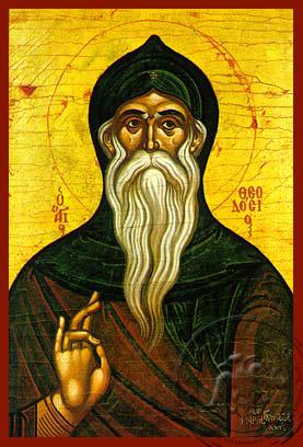 Saint Theodosius, the Cenobiarch - Hand Painted Icon