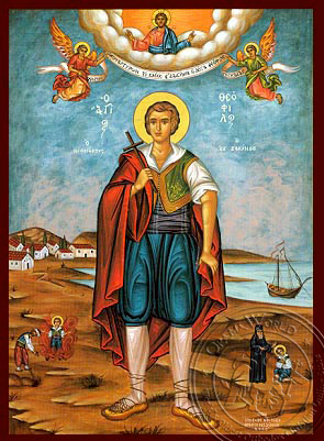 Saint Theofilos of Zakykthos - Hand-Painted Icon
