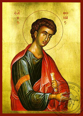 Thomas the Apostle - Hand-Painted Icon