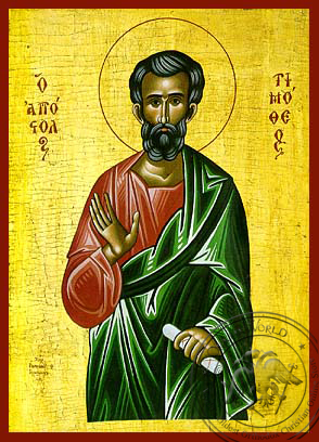 Timothy the Apostle - Hand-Painted Icon
