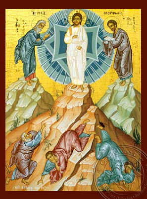 The Transfiguration - Hand-Painted Icon