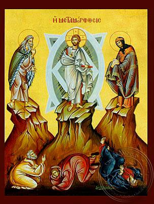 Transfiguration - Hand Painted Icon
