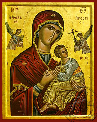 Panagia Formidable Protection - Hand-Painted Icon