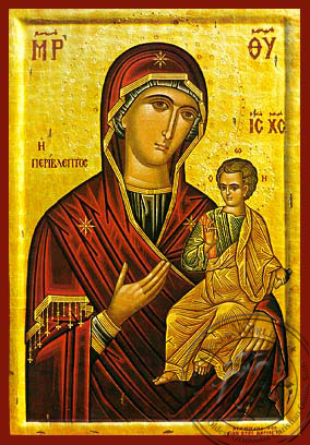 Panagia Perivleptos - Hand-Painted Icon