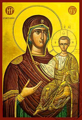Panagia The Phaneromene - Hand-Painted Icon