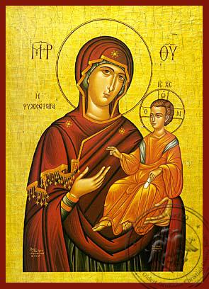 Panagia Saviour of Souls - Hand-Painted Icon