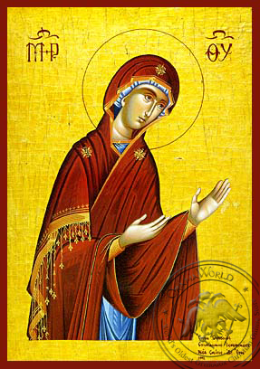 Virgin, Paraklesis - Hand Painted Icon