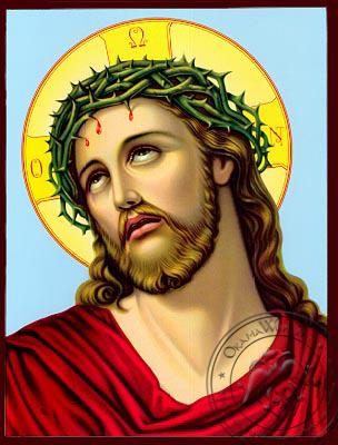 The Bridegroom Detail - Nazarene Art Icon
