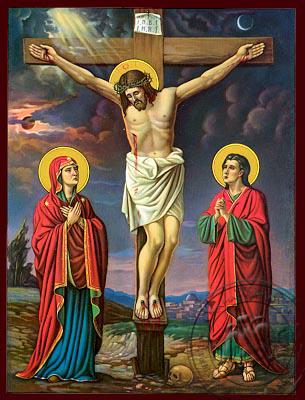 The Crucifixion - Nazarene Art Icon