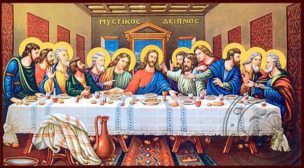 Last Supper - Nazarene Art Icon