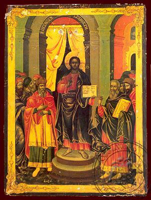 Mid-Pentecost - Nazarene Art Icon