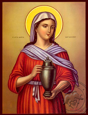 Saint Maria Magdalini - Nazarene Art Icon