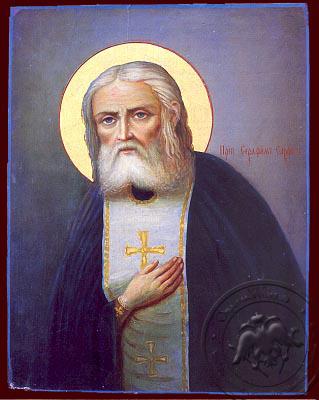 Saint Seraphim, of Sarov - Nazarene Art Icon