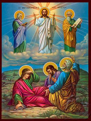 The Transfiguration - Nazarene Art Icon