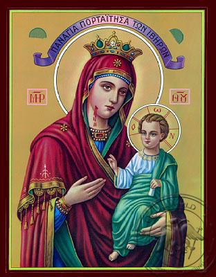 Portaitissa Iviron - Nazarene Art Icon