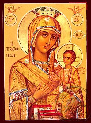 Virgin and Child, Hodegetria, of Prousa - Nazarene Art Icon