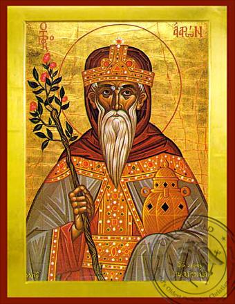 Aaron the Prophet - Byzantine Icon