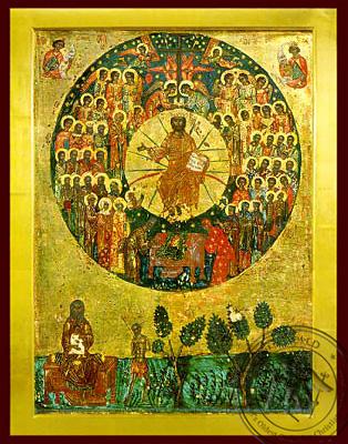 All Saints - Byzantine Icon