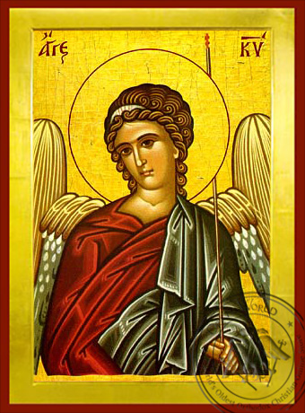 Angel of the Lord - Byzantine Icon