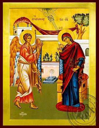 Annunciation - Byzantine Icon