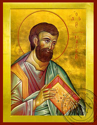 Apostle and Eyangelist Saint Mark - Byzantine Icon