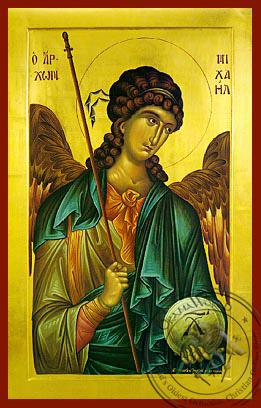 Archangel Michael - Byzantine Icon