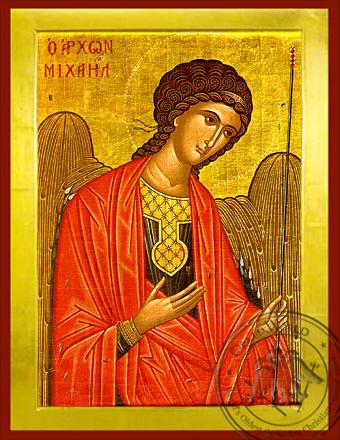 Archangel Michael, Supplicating - Byzantine Icon