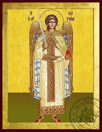 Archangel Uriel Full Body - Byzantine Icon