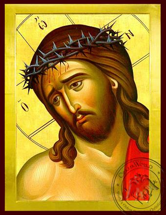 Bridegroom, Detail - Byzantine Icon