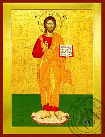 Christ Blessing, Full Body - Byzantine Icon