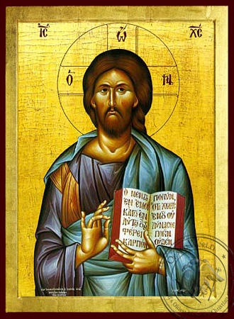 Christ Blessing - Byzantine Icon