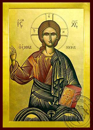 Emmanouel - Byzantine Icon
