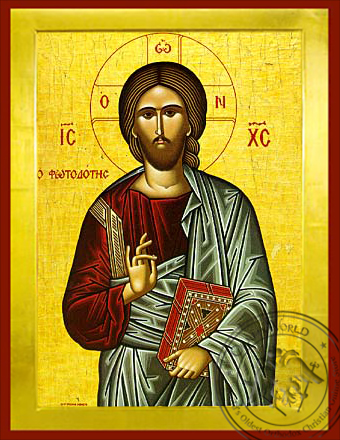 The Light-Giver - Byzantine Icon