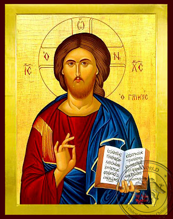 Christ Blessing, the Sweet - Byzantine Icon