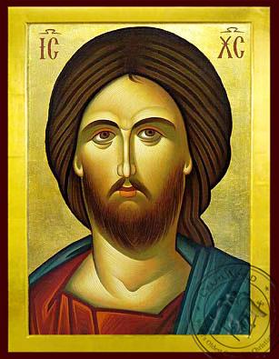 Christ Detail - Byzantine Icon