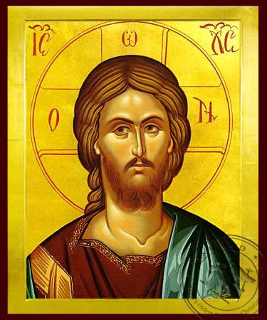 Christ, Bust - Byzantine Icon