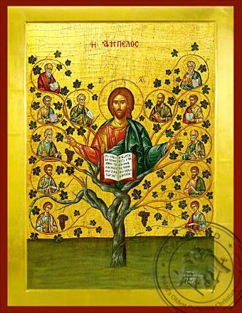 The Vineyard - Byzantine Icon
