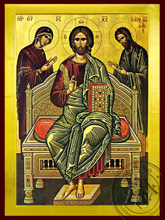 Deesis - Byzantine Icon