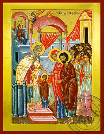 The Presentation of the Virgin in the Temple - Byzantine Icon