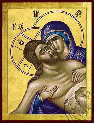 Eulogies of Good Friday - Byzantine Icon