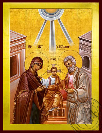 Holy Family - Byzantine Icon
