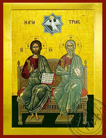 Holy Trinity - Byzantine Icon
