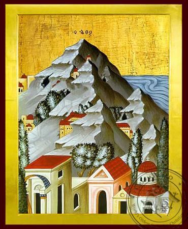 Mount Athos - Byzantine Icon